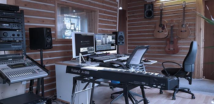 Musikstudie lydstudie i København